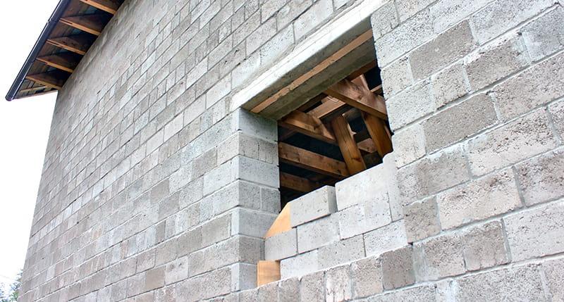 Толщина стены из керамзитобетонных блоков