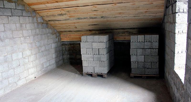 Внутренние стены из керамзитоблоков