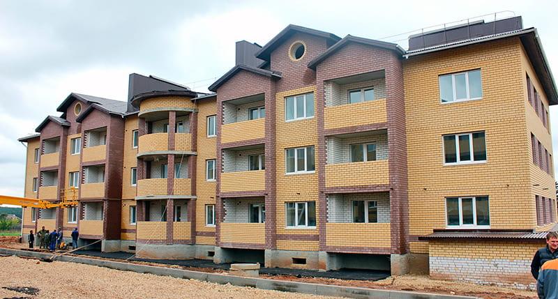 Трёхэтажный дом в Арзамасе
