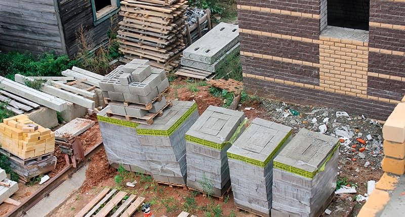 Блоки в строительстве
