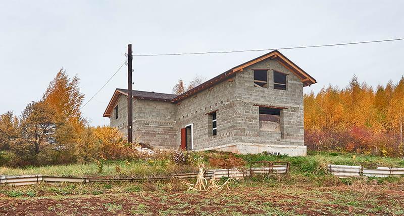 Загородный дом из блоков