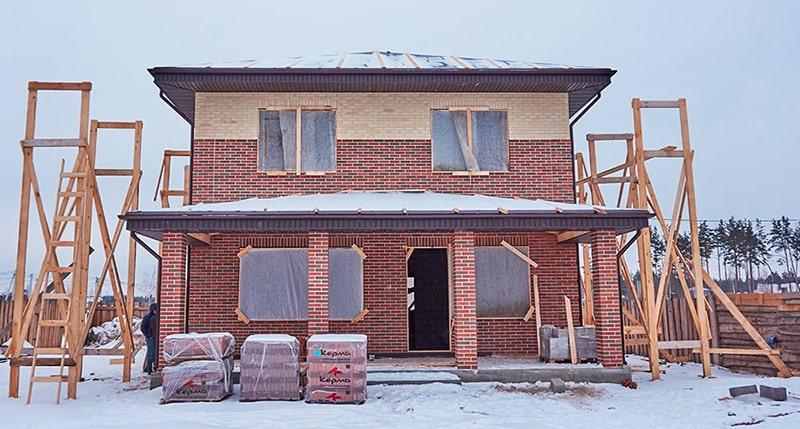 Строительство коттеджа в Дзержинске